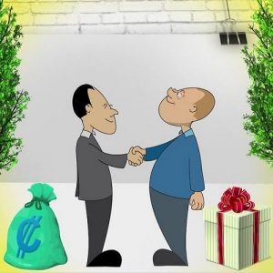 Feilschen und Verhandeln
