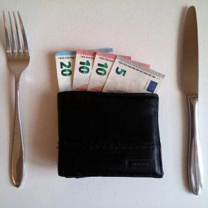 Sparsam leben