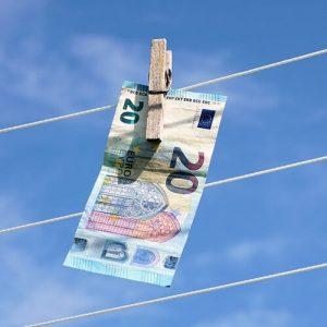 Geldwäsche überweisung