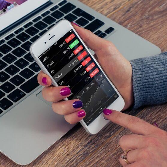 Kurse bei Online Broker