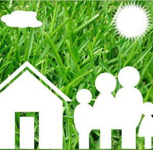 Haus und Familie
