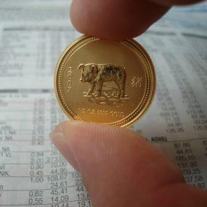 Gold in der Krise